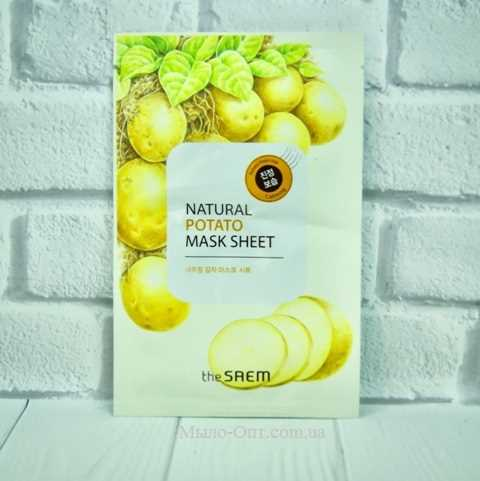 The Saem Natural Potato Mask Sheet